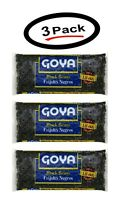 3 Pack of Goya Black Beans Frijoles Negros 16 Oz. (3 Pack) - New - Free Shipping
