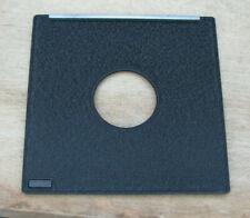 genuine Toyo field  5x4 45A copal & compur 0 fit lens board 110mm square 34.9mm
