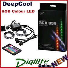 DeepCool RGB 350 Magnetic Colour LED Strip w/ Remote Control RGB350