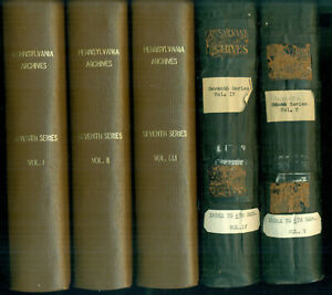 Pennsylvania Archives 7th Series, Vols. 1-5 - Every-name index to the 6th series