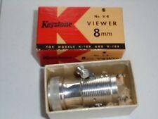 Vintage Keystone 8mm Viewer No. V-8 for Models K-109 & K-108 with Box