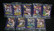 Minnesota Vikings 1999 Football Collector Cards Burger King Complete Set of 27