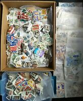 Europa Stamp Lots MNH: 0.5lb of Water Damaged Stamps per Lot - Europa Cept