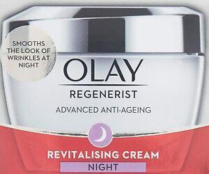 Olay Regenerist Advanced Anti Ageing Revitalizing Night Skin Cream 50 gm FS