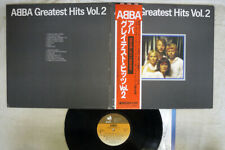 ABBA GREATEST HITS VOL.2 DISCOMATE DSP-5113 Japan OBI VINYL LP