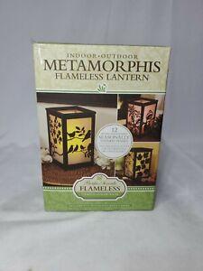 Metamorphis Flameless Indoor/Outdoor Lantern Pacifica Accents 12 Panels