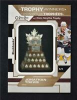 2020-21 O-Pee-Chee OPC Patches Conn Smythe Trophy #P-49 Jonathan Toews