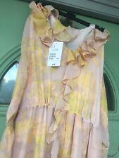 H&M Conscious Beautiful Women's Shift Dress, Botanical - Size 18 Also Fits 14-16