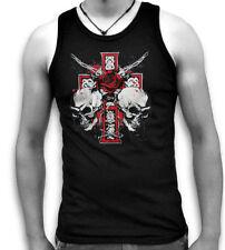 Cotton Skull Sleeveless T-Shirts for Men
