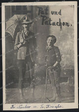 AK-vintage Photo-Pat und Patachon-