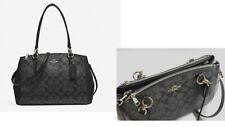 2 ways Carry**$395/ NWT COACH 58291 LEATHER CHRISTIE SMALL CARRYALL Handbag Bag