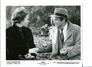 Jane Fonda Maximilian Schell Julia Original Press Still Movie Photo