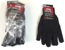 Brown Jersey Gloves Boss Package of 6 Pair Style 4020 Large Knit Wrist New