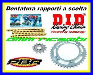 Kit Trasmissione KTM 990 ADVENTURE-R 09 catena corona pignone PBR DID ZVMX 2009