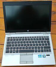 "HP Elitebook 2570p i5 3320M 2.6GHz 4GB 320GB DVDRW 12"" Cheap Laptop grad"