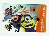 Universal Gift Card - Despicable Me Minion /Orlando / 2013 - No Value -I Combine
