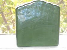 Green Ceramic Letter Holder, very pretty.