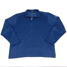 Nike Golf 1/4 Zip Blue Pullover Sweater, Medium