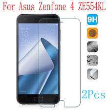 2x 9H Tempered Glass Protective Screen Protector Film For Asus Zenfone 4 ZE554KL