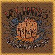 V8 WANKERS - HARDEN THE FUCK UP! CD Gastsänger ROSE TATTOO, DESTRUCTION, TANKARD