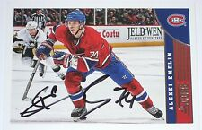 ALEXEI EMELIN SIGNED 13-14 SCORE MONTREAL CANADIENS CARD AUTOGRAPH AUTO!!!