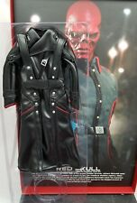 MMS167 Genuine 1/6 Hot Toys Captain America Red Skull Black leather jacket only!