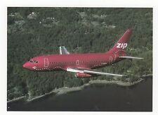 ZIP Boeing B737-200 Aviation Postcard, A678