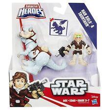 STAR WARS - Playskool Galáctica HEROES - Han Solo&Tauntaun - NUEVO