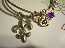 Fluer De Lis Bangle Bracelet�� �� Jewelry Garage Sale!�� Pretty