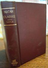 Micah Clarke by Arthur Conan Doyle Hardback Oxford Edition