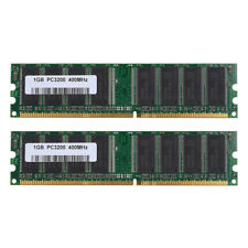 1GB DDR1-400Mhz PC3200 2.5V 184Pin Low Density Dimm Desktop SDRAM Memory PRO HOT