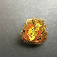 Magical Musical Moments - Can You Feel The Love Tonight Brown Disney Pin 17706