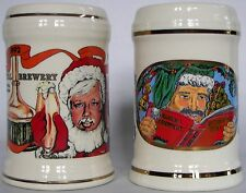 Capital Brewery, Middleton, Wis. Christmas beer mugs, set of 2 different