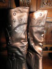 Steampunk gothic Victorian renaissance Stiefel vintage LARP Boots Stiefeletten