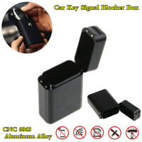 Car Key Signal Blocker Box Keyless Entry Anti-Theft Device FOB RFID Shield Guard
