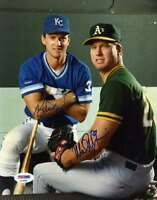 MARK MCGWIRE KEVIN SEITZER PSA DNA COA Autographed 8x10 Photo  Hand Signed