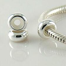 925 Sterling Silver Rubber STOPPER bead for European bracelets