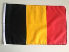 Fahne Flagge Belgien 30x45 cm mit Schaft