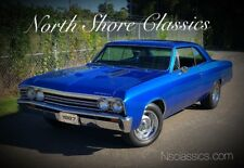 1967 Chevelle -NEW PAINT-FRESH ENGINE-RELIABLE MUSCLE CAR-SEE VI