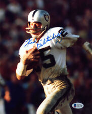 FRED BILETNIKOFF SIGNED AUTOGRAPHED 8x10 PHOTO OAKLAND RAIDERS BECKETT BAS