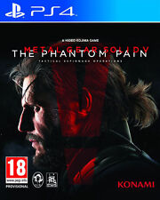METAL GEAR SOLID V 5: PHANTOM PAIN para PS4 en CASTELLANO - ENTREGA HOY
