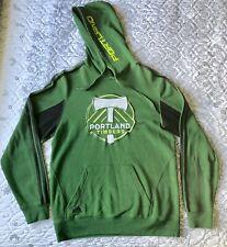 Adidas Portland Oregon Timbers Soccer MLS Pullover Jacket Hoodie Men's Small