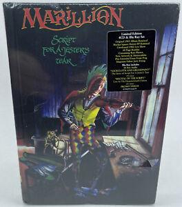Marillion - Script for a Jester's Tear - New & Sealed 4CD & Blu-ray Set - D1