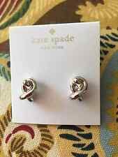 Kate Spade Statement Silver Knot Stud Earring so cute for gifts