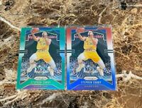 2019-20 Stephen Curry Panini Prizm Red White Blue Prizm #98 Green Refractor Lot