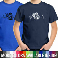Paintball Shooting Sports Heartbeat Toddler Youth Kids Children Tee Boys Gift