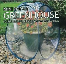 2x Mini Pop Up Greenhouse Pvc Tent Garden Plants Lawn Crops Protector Outdoor