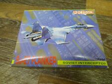 DRAGON SU-27 FLANKER 1/144 SCALE NEW VINTAGE KIT