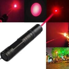 Portable Powerful 5mw 650nm Military Visible Light Beam Red Laser Pointer Pen SS