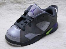 best loved 3d493 13607 Nike Air Jordan 6 Retro Low GT Girls Toddler 8C Dark Grey Ultraviolet Joker